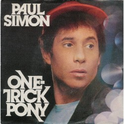 Simon Paul – One-Trick Pony|1980 Warner Bros. Records – WB 17715-Single