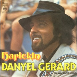 Gerard  Danyel – Harlekin|1971     CBS S 7754-Single