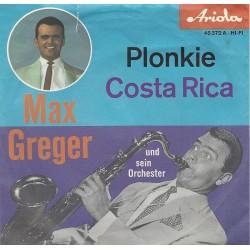 Greger Max und sein Orchester – Plonkie|1962     Ariola – 45 372 A-Single