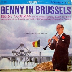 Goodman Benny and His Orchestra ‎– Benny In Brussels Volume 1|1958 Columbia ‎– CL 1247