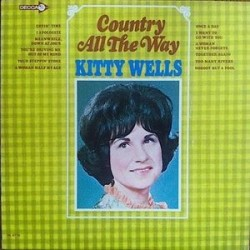Wells ‎Kitty – Country All The Way|1966 Decca ‎– DL 4776