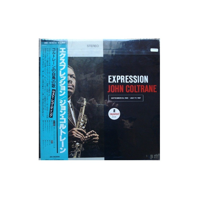 Coltrane John – Expression 1980    MCA Records – VIM-4626-Japan Press