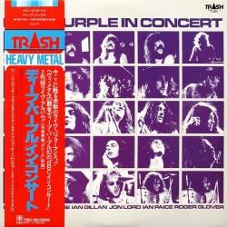 Deep Purple – Deep Purple In Concert|1980    Trash – TRSH-3001~2-Japan Press