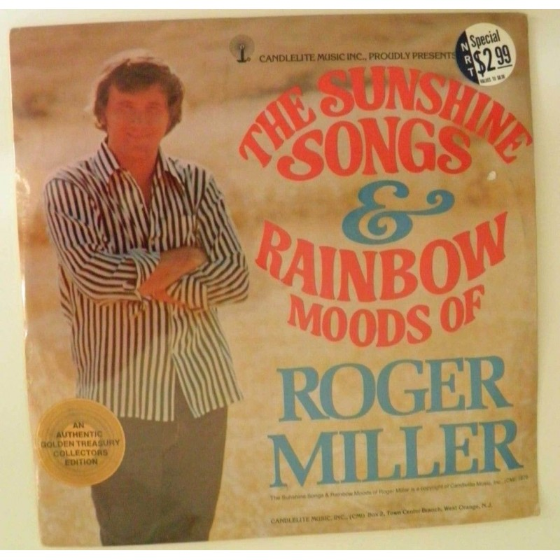 Miller Roger &8211 The Sunshine Songs & Rainbow Moods| 1976 Candlelite Records 3978.