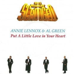 Lennox Annie & Al Green – Put A Little Love In Your Heart 1988    A&M Records – 390 382-7-Single