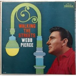 Pierce ‎Webb – Walking The Streets|1960    Decca	 DL 4079