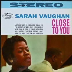Vaughan Sarah – Close To You 1960     Mercury – SR 60240