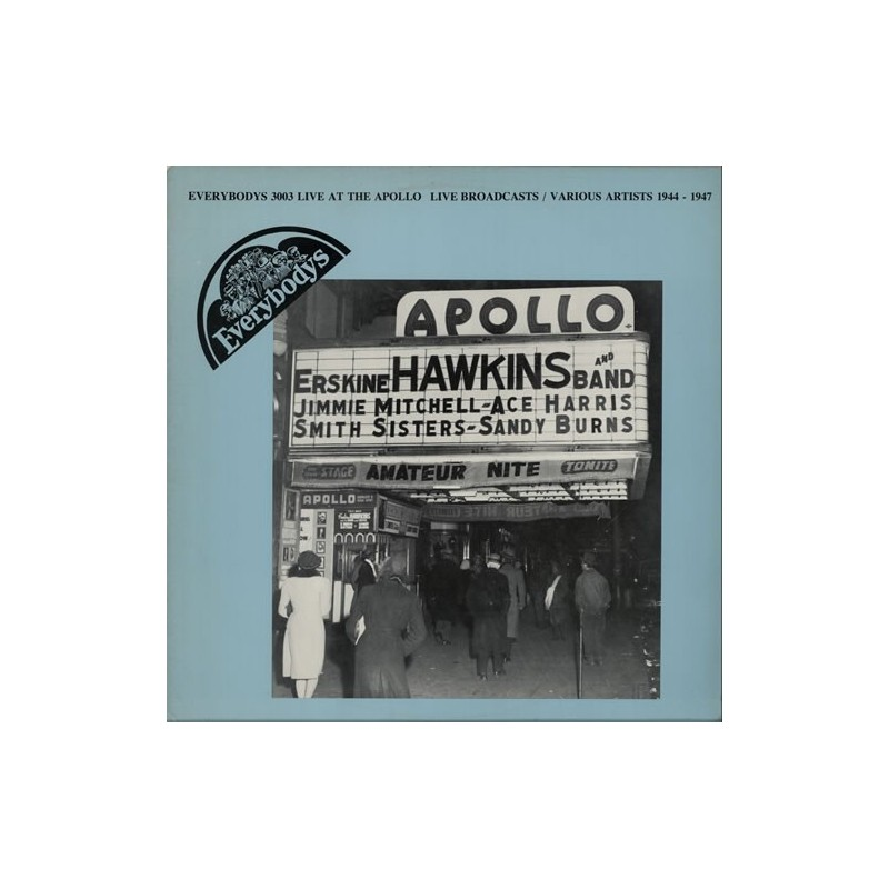 VARIOUS -Live At The Apollo |1984 EV3003