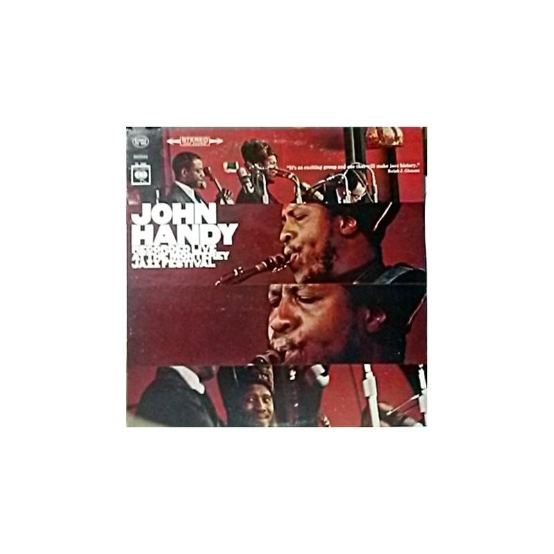 Handy John – Recorded Live At The Monterey Jazz Festival|1966    ColumbiaCS 9262
