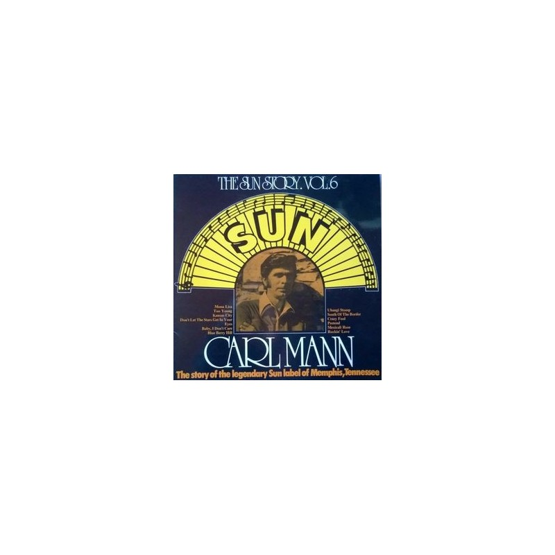 Mann Carl – The Sun Story Vol. 6|1975    Spotlight SPO-131