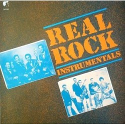 Various ‎– Real Rock Instrumentals|White Label Records – WLP 8907