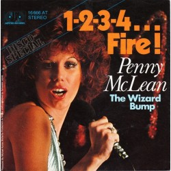 McLean ‎Penny – 1-2-3-4... Fire!|1976     Jupiter Records ‎– 16 666 AT-Single