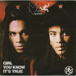 Milli Vanilli ‎– Girl You Know It's True|1988     Hansa ‎– 111 014-Single