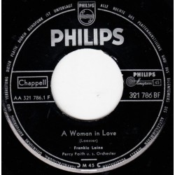 Laine Frankie ‎– A Woman In Love / Walking The Night Away|1956     Philips ‎– 321 786 BF-Single