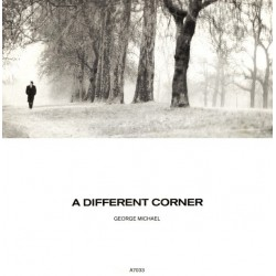 Michael ‎George – A Different Corner|1986    Epic ‎– A7033-Single