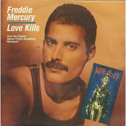 Mercury ‎Freddie – Love Kills|1984     CBS ‎– A-4735-Single