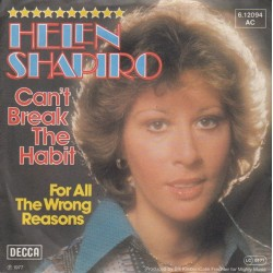Shapiro Helen ‎– Can't Break The Habit|1977     Decca ‎– 6.12 094-Single