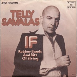 Savalas ‎Telly – If|1974     MCA Records ‎– 6.11608-Single