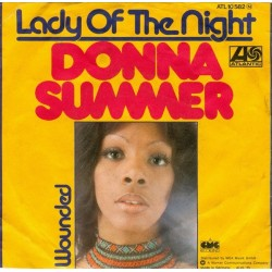 Summer ‎Donna – Lady Of The Night|1975    Atlantic ‎– ATL 10 582-Single