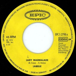 Labelle ‎– Lady Marmalade|1974      EPC 2798-Single