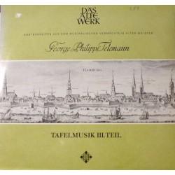 Telemann Georg Philipp - Gustav Leonhardt-Frans Brüggen – Das Alte Werk Tafelmusik Teil III|Telefunken – SAWT 9453/54-A