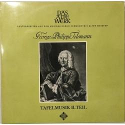 Telemann Georg Philipp – Tafelmusik II. Teil|1965    Das Alte Werk – SAWT 9451/52-A