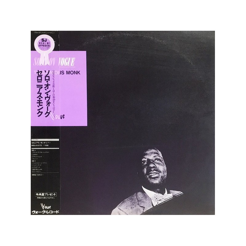 Monk Thelonious – Solo On Vogue 1984    Vogue – K23P-6731