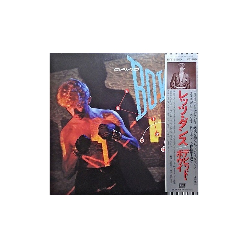 Bowie David – Let's Dance|1983   EMI America – EYS-81580-Japan Press