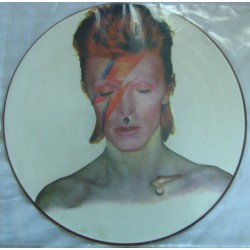 Bowie David ‎– Aladdin Sane|1984    RCA ‎– BOPIC 1- Limited Edition, Numbered, Picture Disc