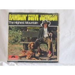 Ramblin' Steve Johnson – The Highest Mountain|1975    Polydor – 2048 168-Single
