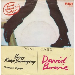 Bowie David Boys Keep Swinging 1979 Rca Victor Pb
