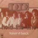Toto – Hold The Line|1978    CBS 6784-Single
