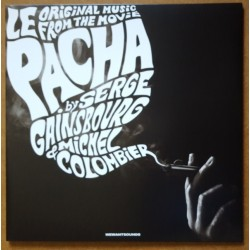 Gainsbourg Serge & Michel Colombier ‎– Original Music From The Movie Le Pacha2018      Wewantsounds ‎– WWSLP10