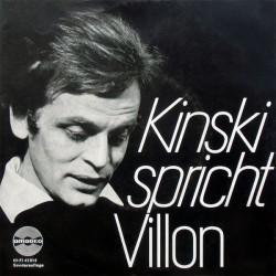 Kinski spricht Villon –...