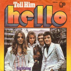 Hello ‎– Tell Him|1974...