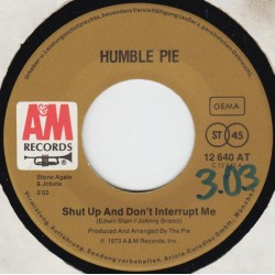 Humble Pie ‎– Shut Up And...