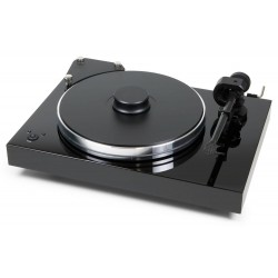 "Pro-Ject Xtension 9 Evolution    Highend Plattenlaufwerk mit 9"" Topklasse-Tonarm  in Klavierlack schwarz"
