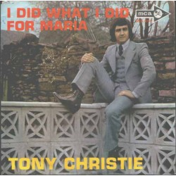 Christie ‎Tony – I Did What...