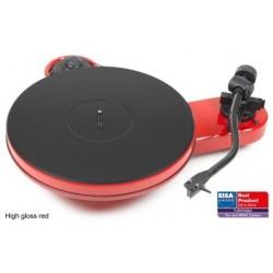Pro-Ject RPM 3 Carbon    Manueller Plattenspieler in Rot  incl.Ortofon 2M Silver