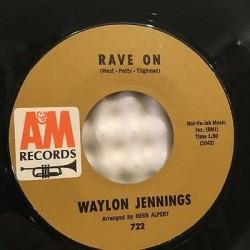 Jennings Waylon- Rave on/...