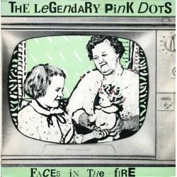 Legendary Pink Dots ‎– Faces In The Fire|1984 BiaS 1