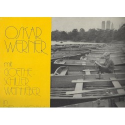 Werner Oskar mit Goethe- Schiller-Weinheber ‎–in New York- Arts and Artists 0120333
