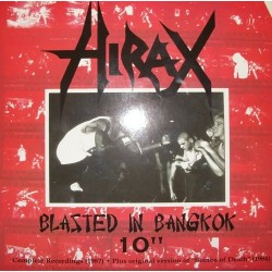 Hirax – Blasted In Bangkok 10&8243|2001 DEEP SIX 32-10&8243-EP,  White Vinyl