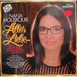 Mouskouri Nana– Alles Liebe&8230 (20 Ihrer Schönsten Lieder) 1981 Polystar 91297 2
