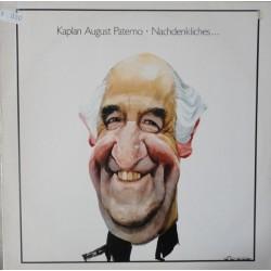 Paterno Kaplan August – Nachdenkliches|1988   Amadeo – 837 698-1