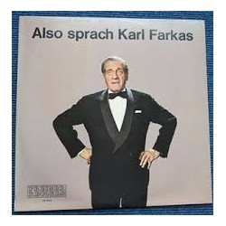 Farkas Karl – Also Sprach Karl Farkas|1971 Preiser Records – PR 9924