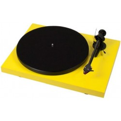 Pro-Ject Debut Carbon (DC) in Gelb incl. Ortofon 2M Red