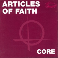 Articles Of Faith ‎– Core|1991 Bitzcore ‎– EFA LP 01664 &8211 08