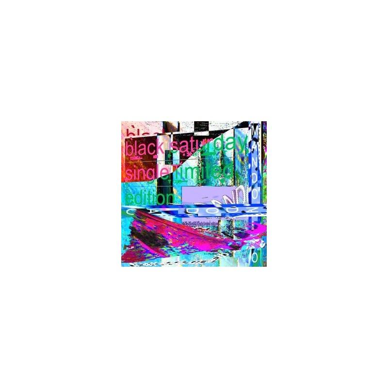 Mando Diao – Black Saturday 2014  3779359- Vinyl 7&8243- Single/ Limited Edition-Clear Vinyl
