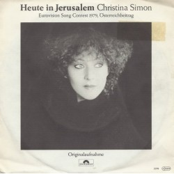 Simon Christina– Heute In Jerusalem|1979     Polydor ‎– 2048 245